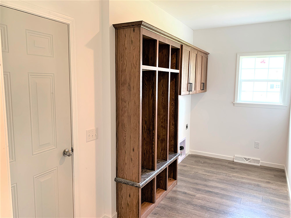 Lockers In The Utility Room