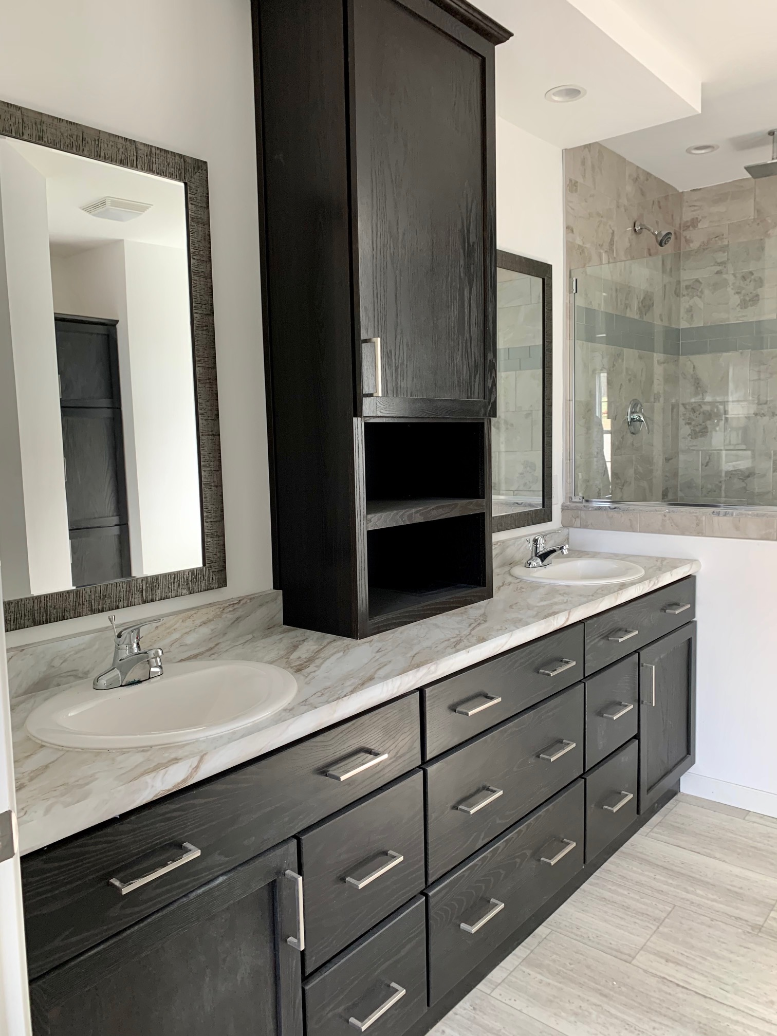 Shown With Peppercorn Cabinets