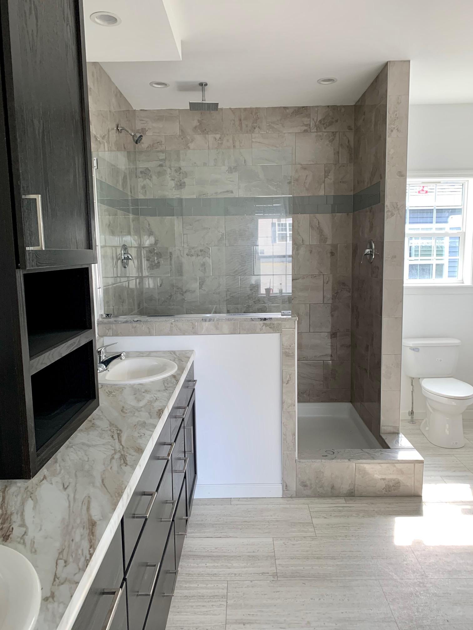 Standard Tile  Shower , Barn Door Tile Shower Option Will Save Some Money