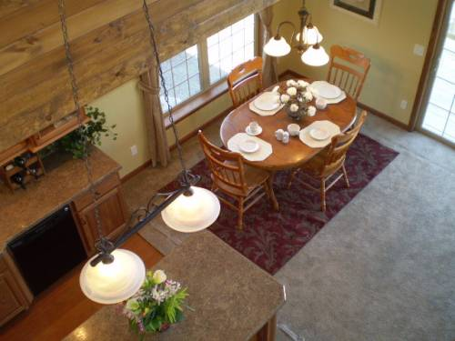Dining Room View from Loft