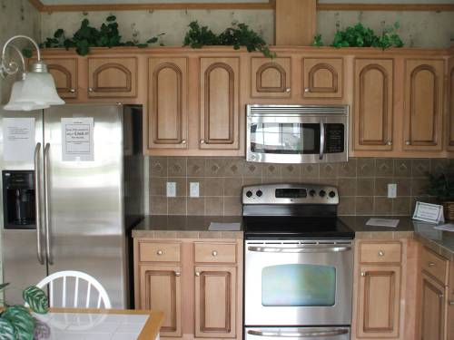 Medium Birch Cabinets