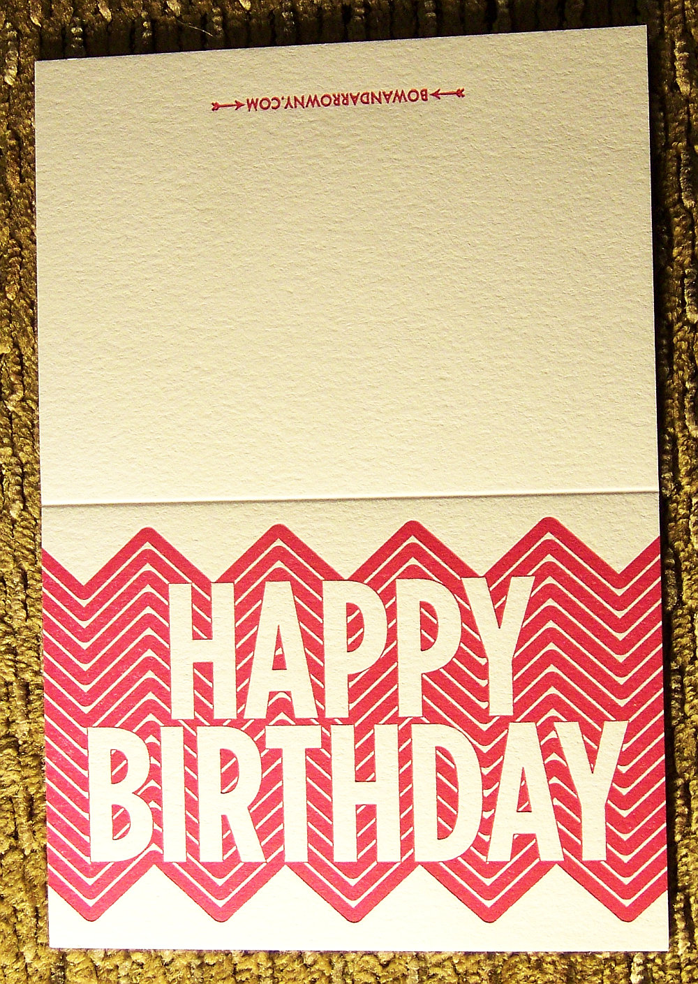Happy Birthday Card (A2)