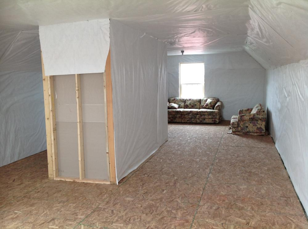 Unfinished 2nd floor