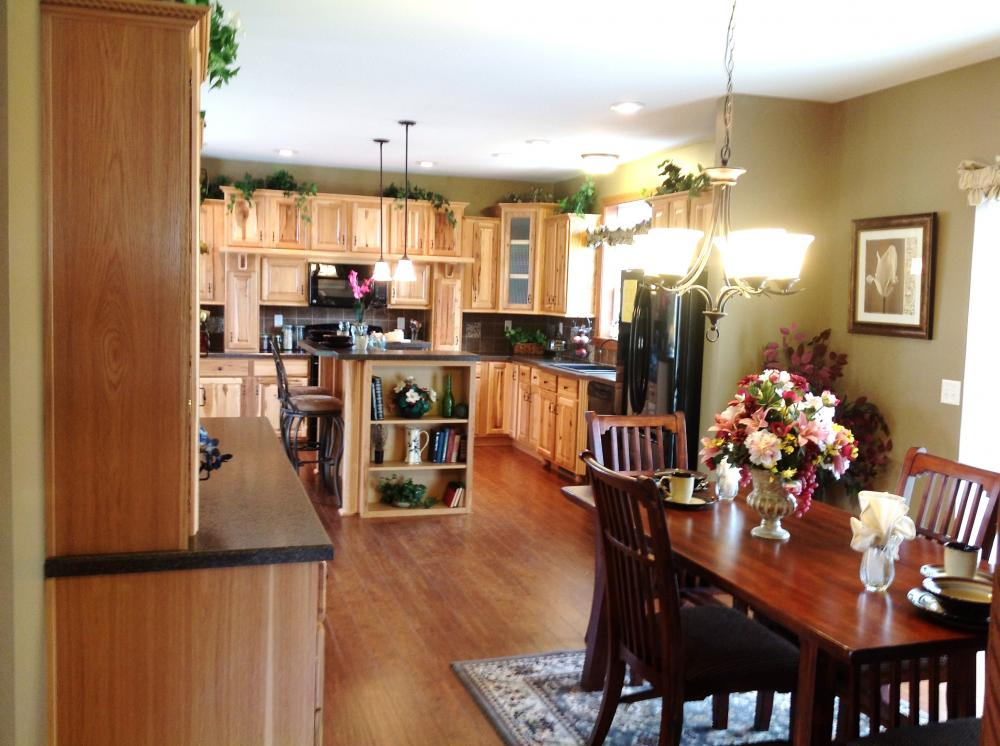 View From Utility To Kitchen