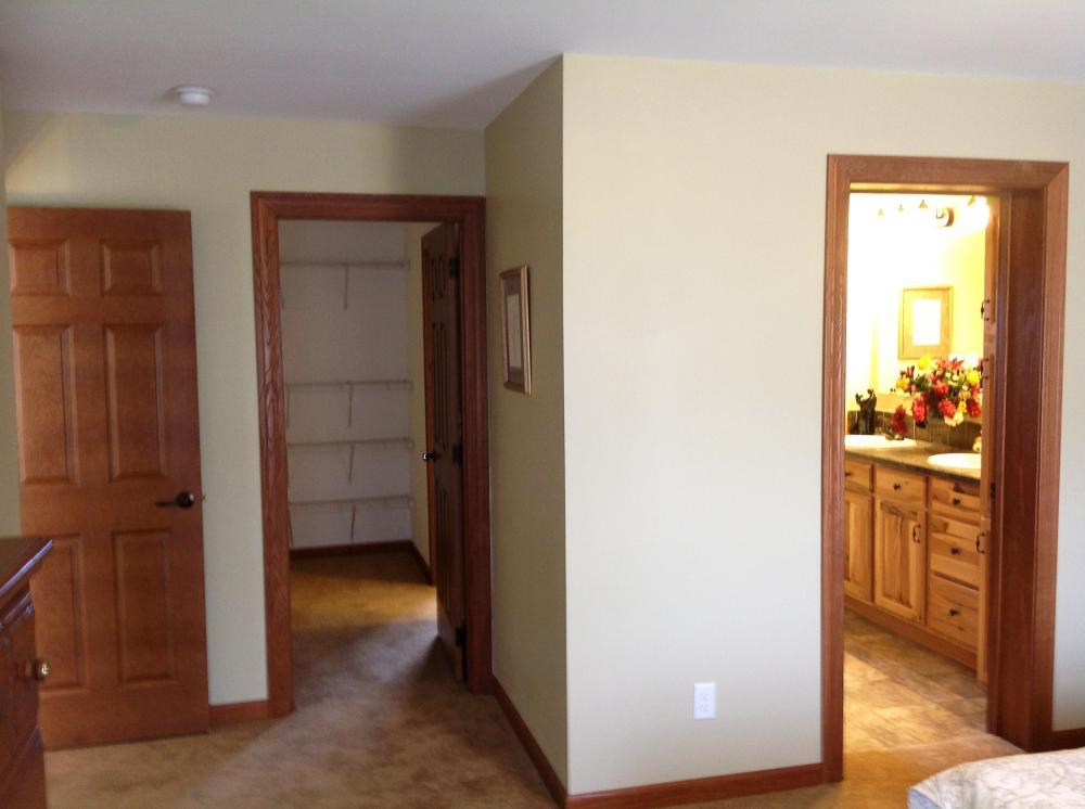 Doors to Master Closet and Bath