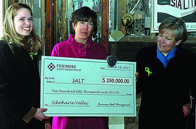 SALT earns its $250,000 from FAM
