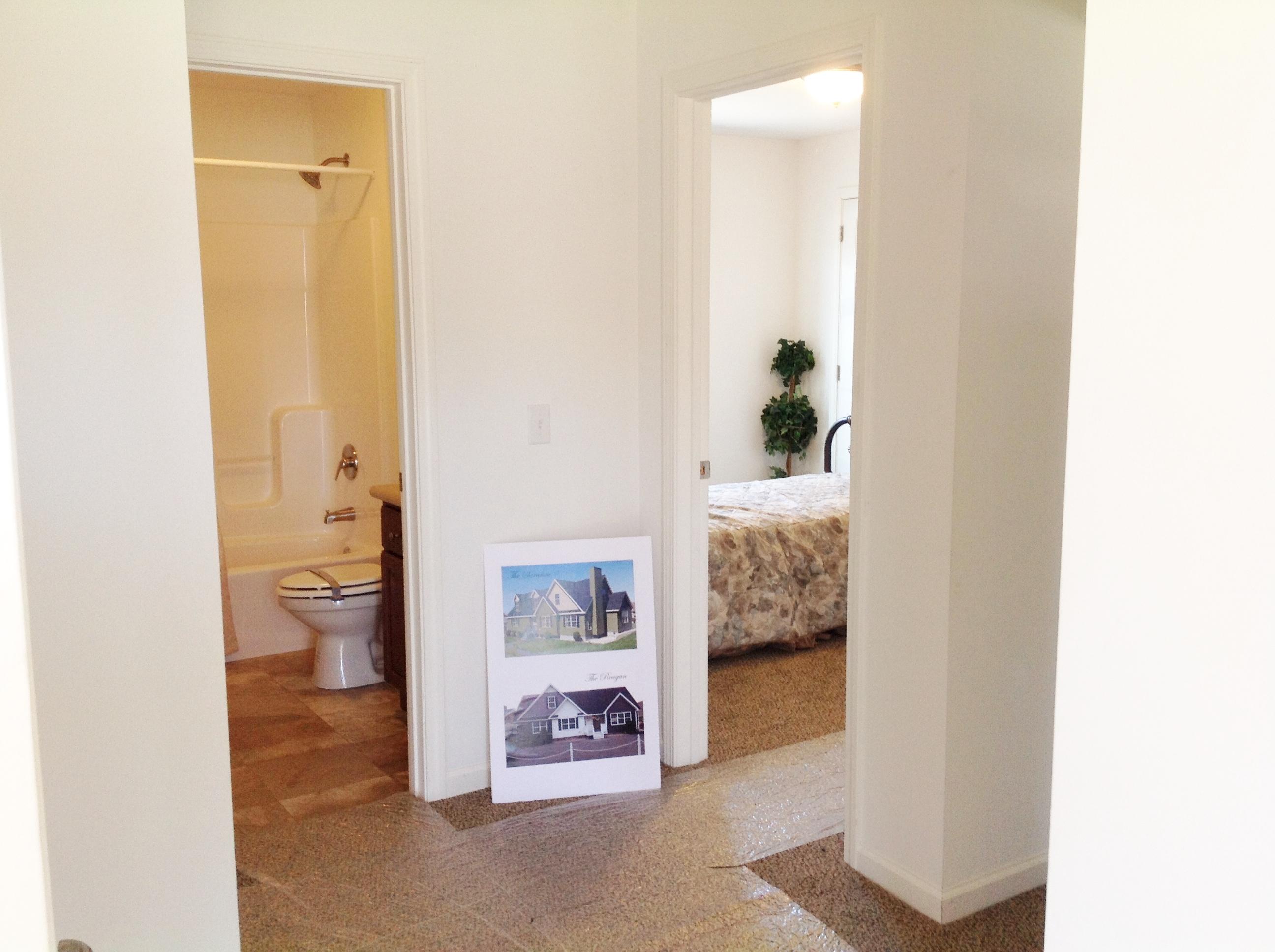 Second Bath off Hallway