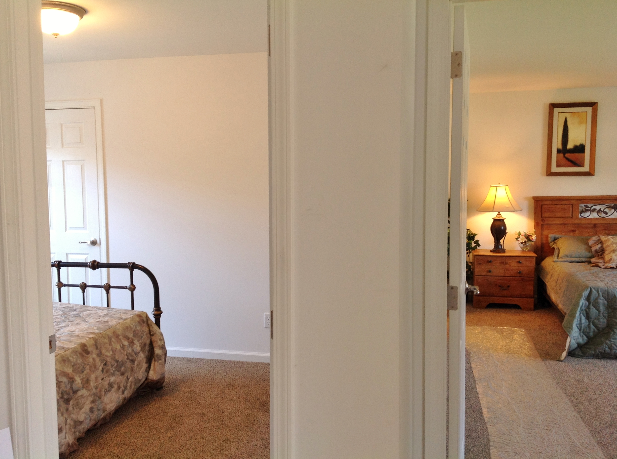 Bedroom to Left/Master to Right