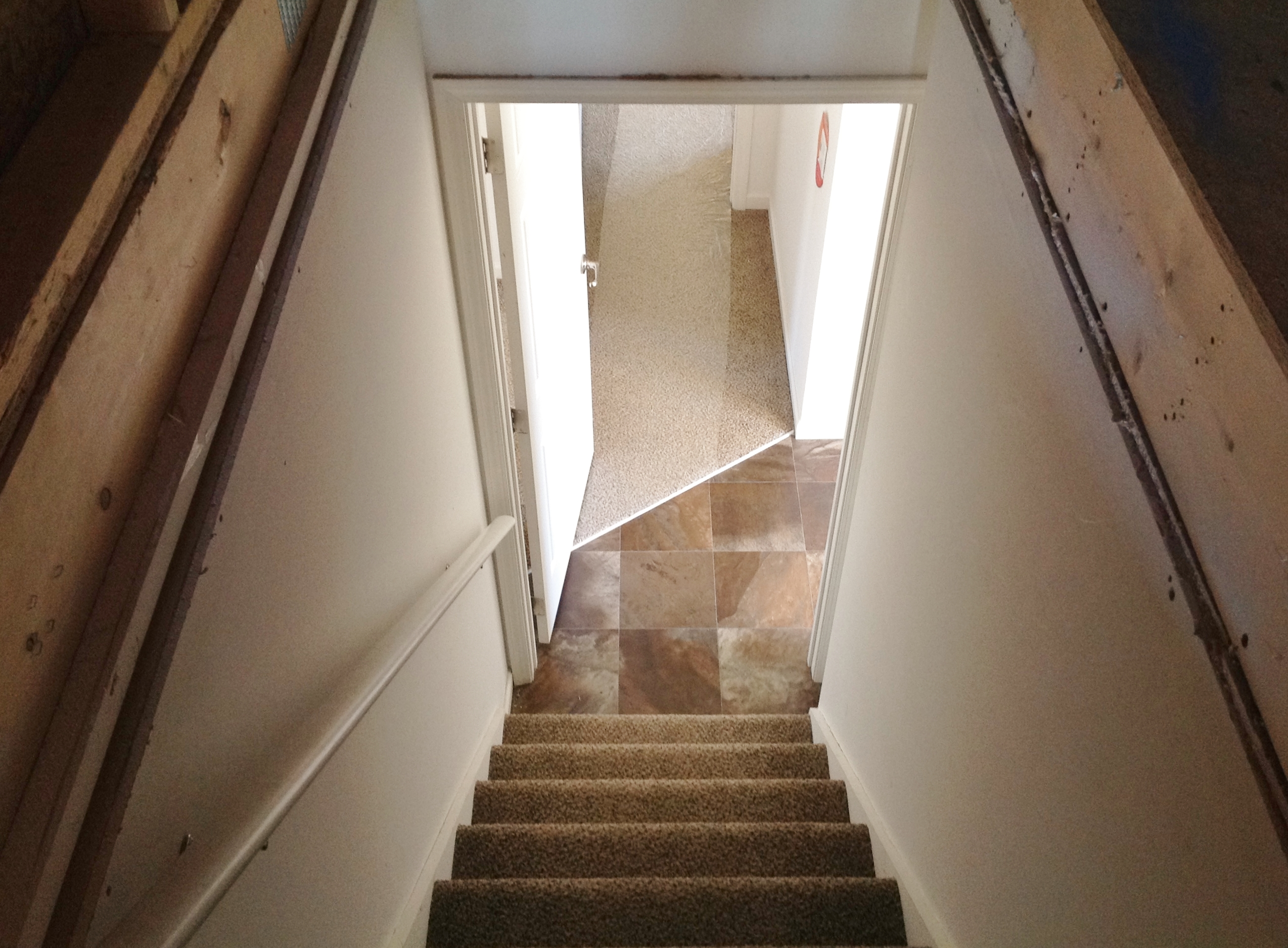 Going Down, Back into Foyer