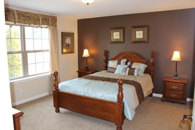 First floor master bedroom.