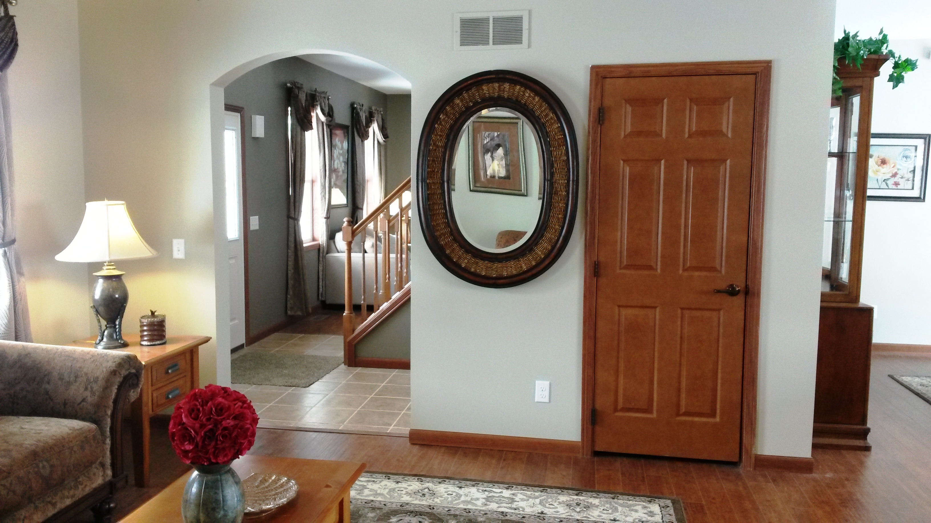 Family room, to the right as you enter the home.