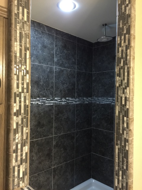 New feature is the serenity shower.