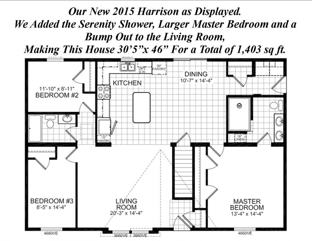 The Harrison is an easy floor plan to customize.