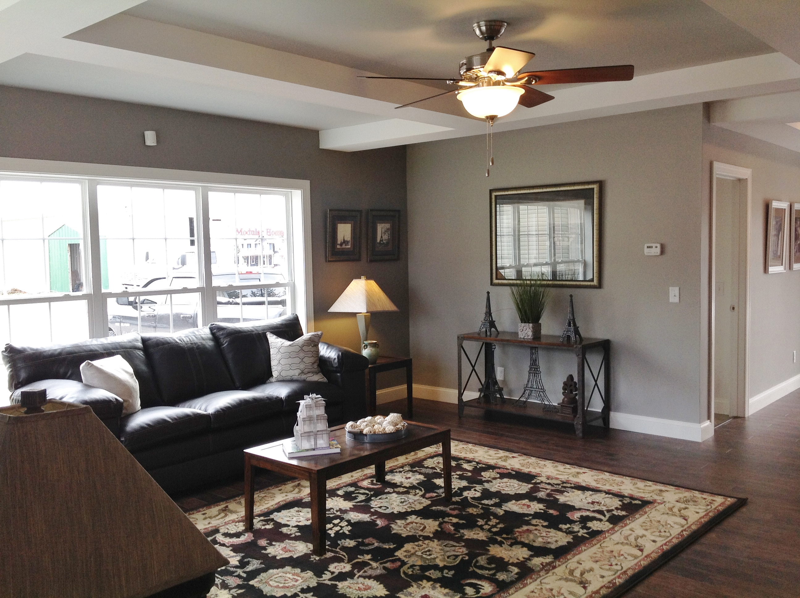 Great room located just beyond foyer.
