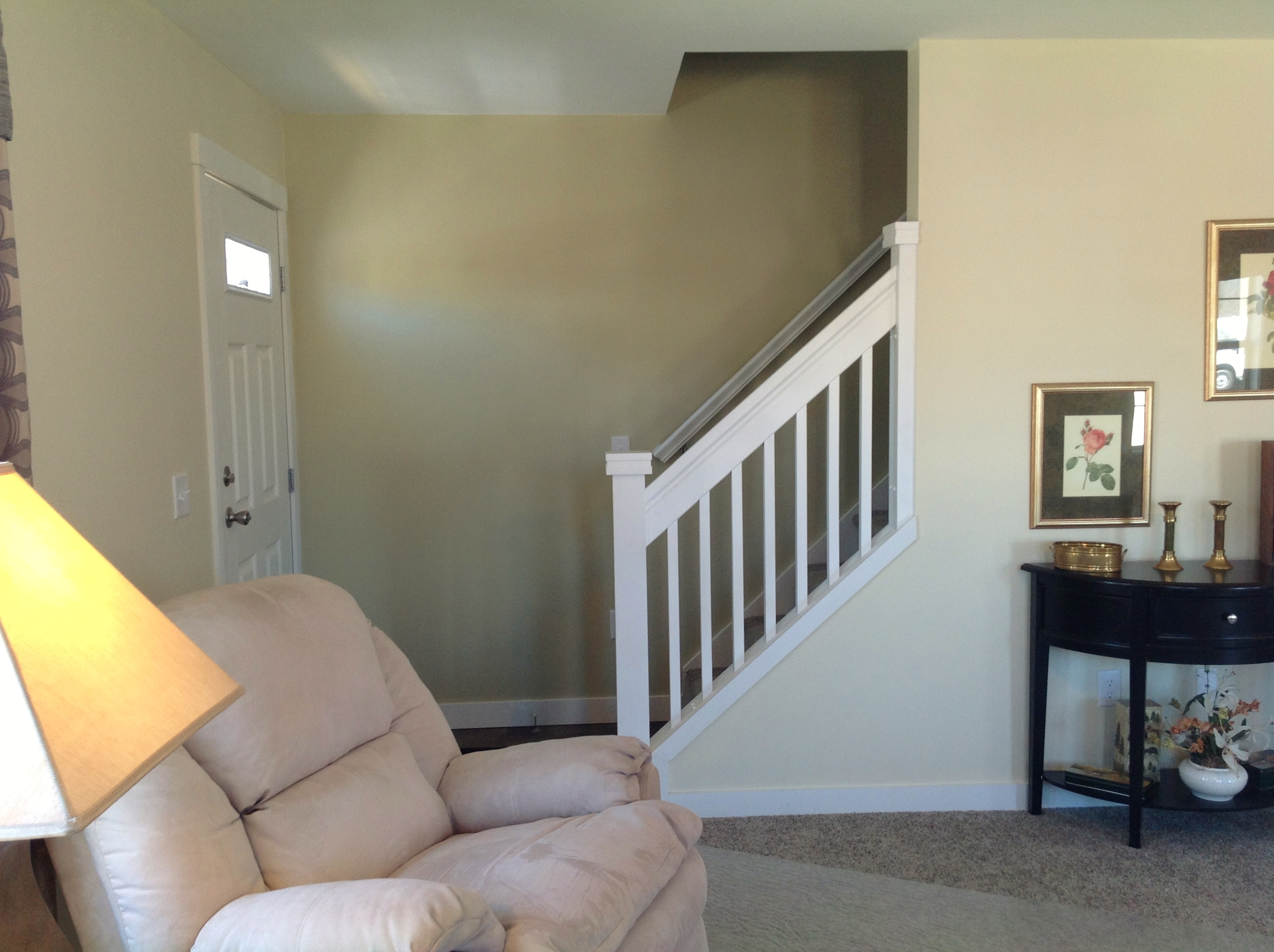 Stair Leading to Unfinished Attic