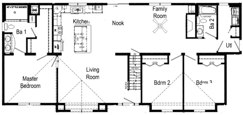This is Floorplan as Displayed