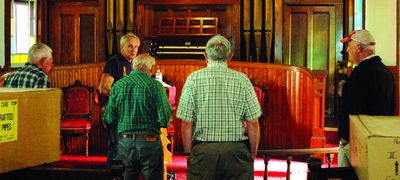 Dorloo organ headed for Westford home