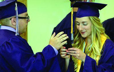 Graduation time...