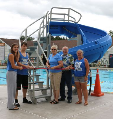Cobleskill Pool reopens--with water slide