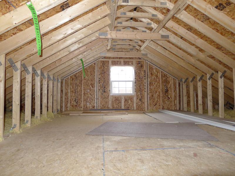 7/12 walk up attic - displayed in previous Truman